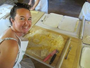 My homemade pasta